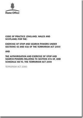 Code of practice (England, Wales and Scotland) for the