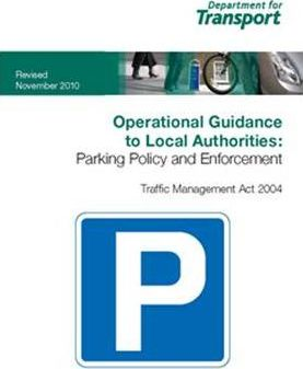 Operational Guidance to Local Authorities:Parking Policy and Enforcement