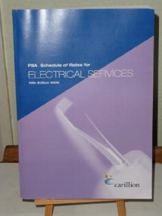 PSA Schedule of Rates for Electrical Services 2006