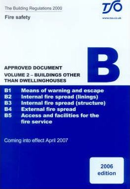Building Regulations 2000: Approved Document B