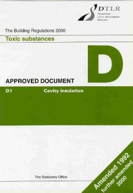 Building Regulations, 1991 1991: Approved Document D