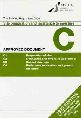 Building Regulations, 1991 1991: Approved Document C