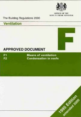 The Building Regulations, 1991: Approved Document F