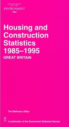 Housing and Construction Statistics 1985-95