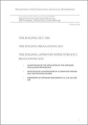 The Building Act 1984