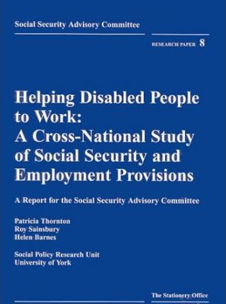 Helping Disabled People to Work