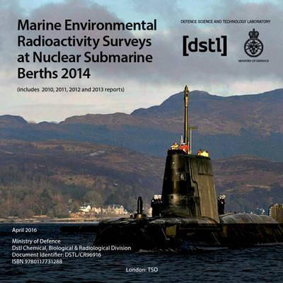 Marine environmental radioactivity surveys at nuclear submarine berths 2014