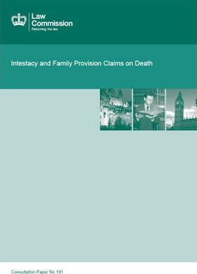 Intestacy and Family Provision Claims on Death