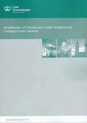 Simplification of Criminal Law