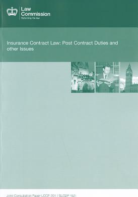 Insurance Contract Law
