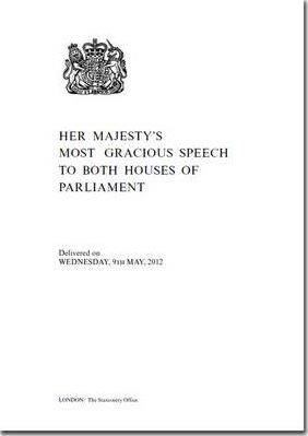 Her Majesty's Most Gracious Speech to Both Houses of Parliament
