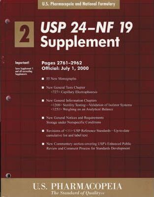 United States Pharmacopoeia: AND the National Formulary, 19th ed.