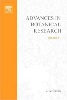 Advances in Botanical Research: Volume 41