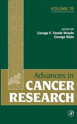 Advances in Cancer Research: Volume 70