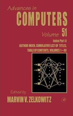 Cumulative Subject and Author Indexes: Cumulative Subject and Author Indexes for Part II Indexes: Vol. 1-49, Pt. II Volume 51