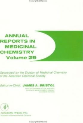 Annual Reports in Medicinal Chemistry: v. 29