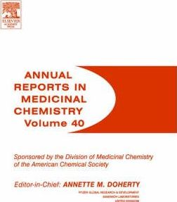 Annual Reports in Medicinal Chemistry: Volume 40