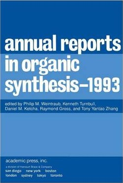 Annual Reports in Organic Synthesis 1993: Volume 1993