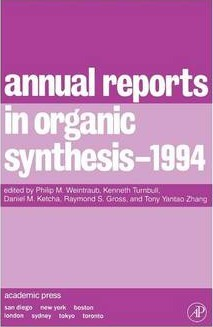 Annual Reports in Organic Synthesis 1994: Volume 94