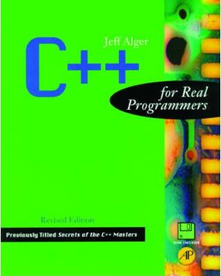 C++ for Real Programmers