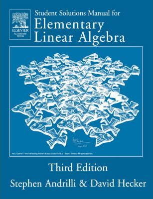Solutions Manual for Elementary Linear Algebra