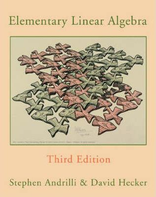 Instructor's Manual for Elementary Linear Algebra