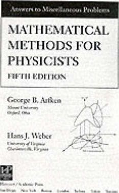 Mathematical Methods For Physicists Arfken Solution Manual Pdf