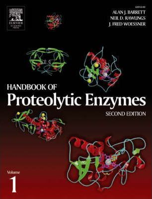 Handbook of Proteolytic Enzymes, Two-Volume Set with CD-ROM