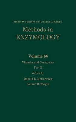 Vitamins and Coenzymes, Part E: Volume 66