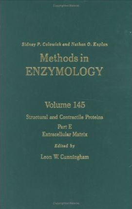 Structural and Contractile Proteins, Part E: Extracellular Matrix: Volume 145