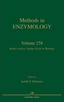 Redox-Active Amino Acids in Biology: Volume 258