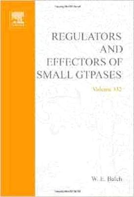 Regulators and Effectors of Small GTPases, Part F: Ras Family I: Volume 332