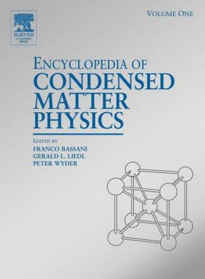 Encyclopedia of Condensed Matter Physics