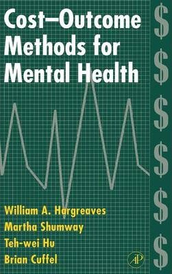 Cost-Outcome Methods for Mental Health