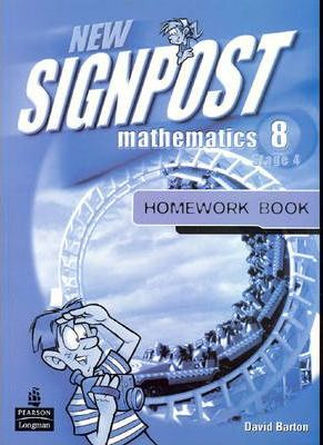 New Signpost Mathematics 8 Homework Book