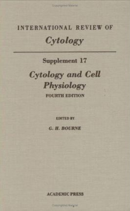 Cytology and Cell Physiology, Supplement 17: Volume 17