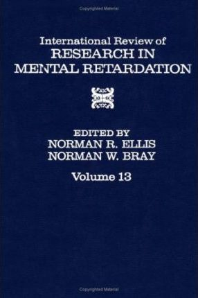 International Review of Research in Mental Retardation: v. 13