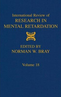 International Review of Research in Mental Retardation: Volume 18
