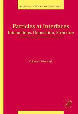 Particles at Interfaces: Volume 9