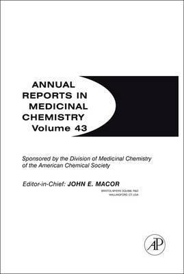 Annual Reports in Medicinal Chemistry: Volume 43