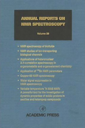 Annual Reports on NMR Spectroscopy. (Print Ed.)