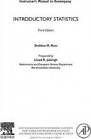 Introductory Statistics, Instructor Solutions Manual (E-Only)