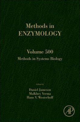 Methods in Systems Biology: Volume 500