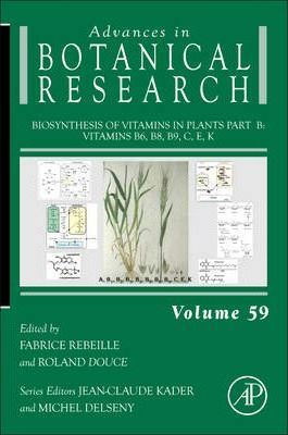 Biosynthesis of Vitamins in Plants Part B: Volume 59