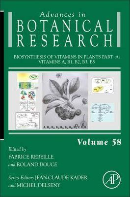 Biosynthesis of Vitamins in Plants Part A: Volume 58