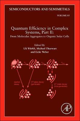 Quantum Efficiency in Complex Systems, Part II: From Molecular Aggregates to Organic Solar Cells: Volume 85