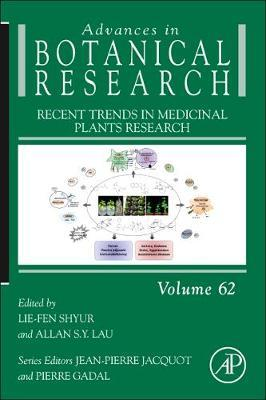 Recent Trends in Medicinal Plants Research: Volume 62