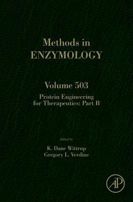 Protein Engineering for Therapeutics, Part B: Volume 503