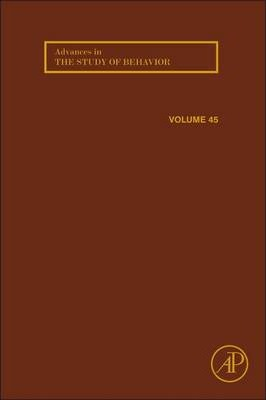 Advances in the Study of Behavior: Volume 43