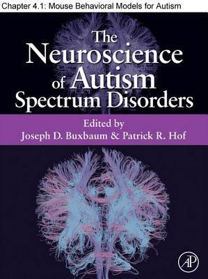 Mouse Behavioral Models for Autism Spectrum Disorders
